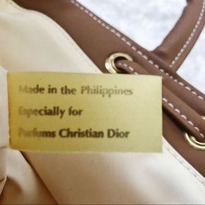 Dior Bags   Christian Parfum Dune Canvas Sac Backpack Bag   Poshmark 5d15b28ece